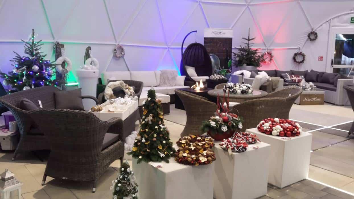 Ogrodowe dekoracje świąteczne