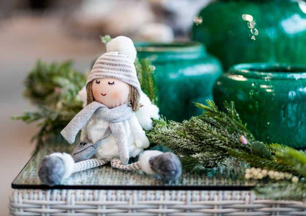 Na zdjęciu dekoracje świąteczne