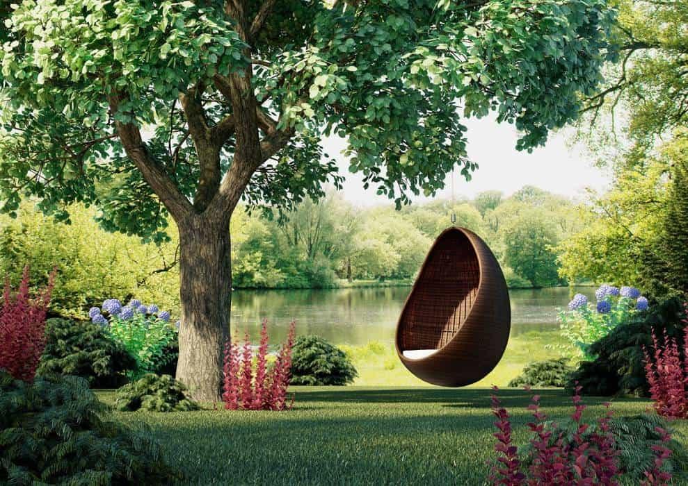 Technorattan w ogrodzie – pięć inspiracji