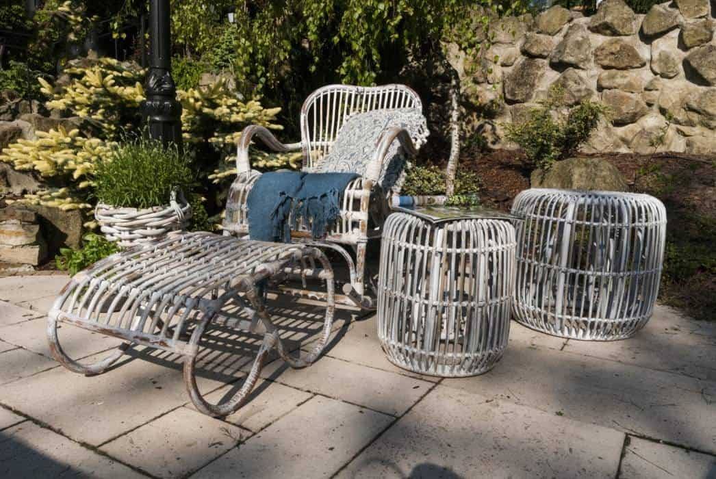 Fotele ogrodowe rattanowe