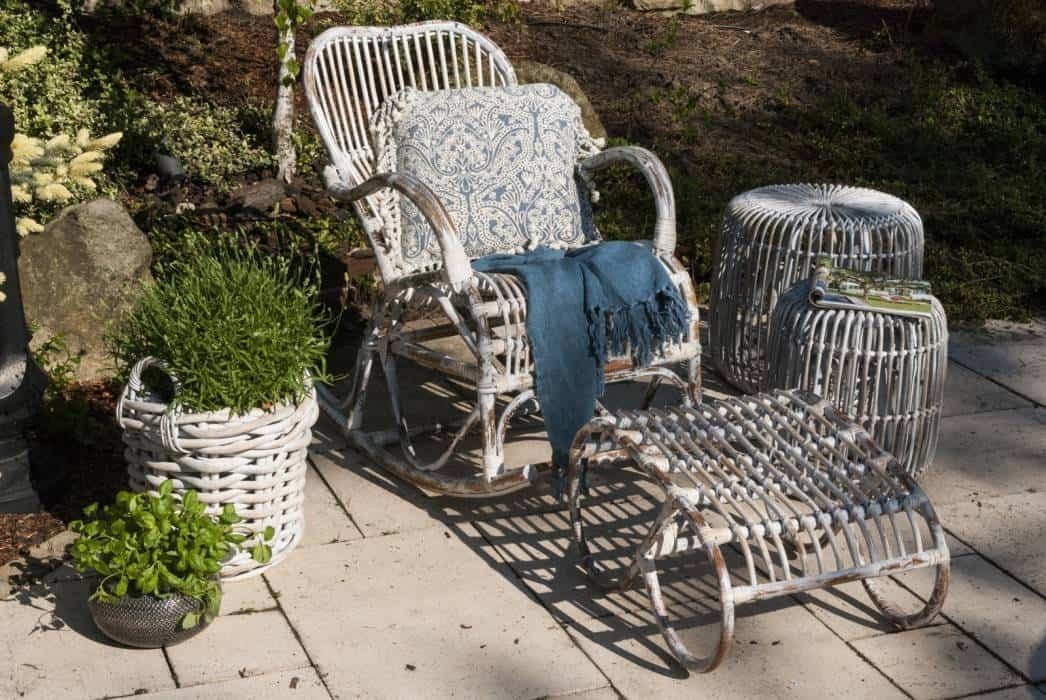 Fotele rattanowe ogrodowe