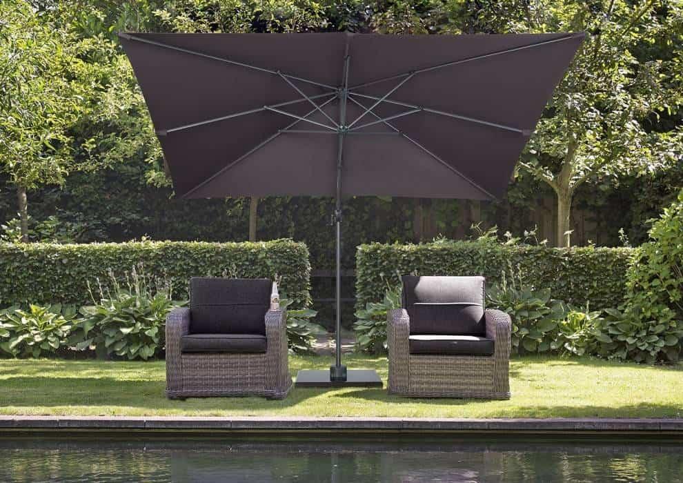 parasol ogrodowy kwadratowy