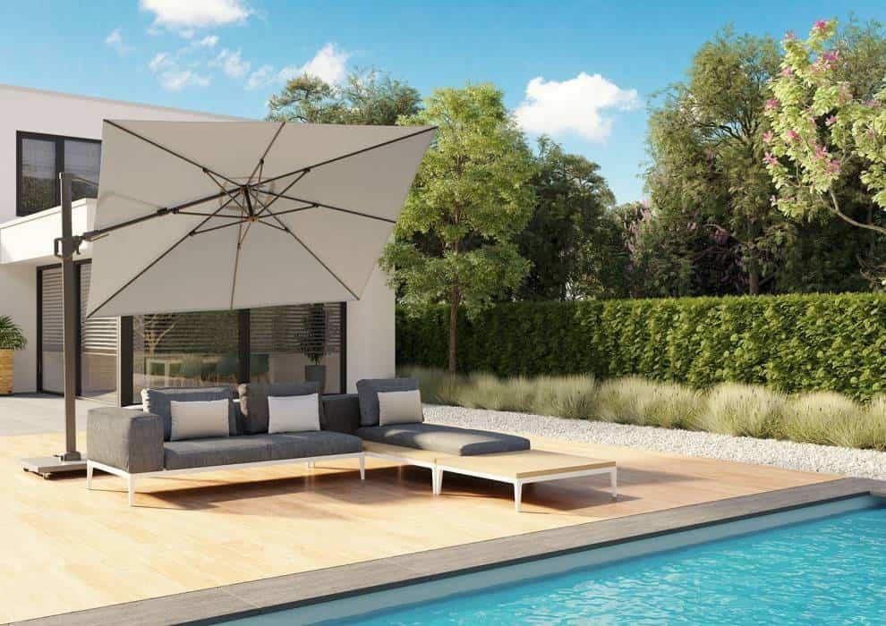 parasole ogrodowe małe