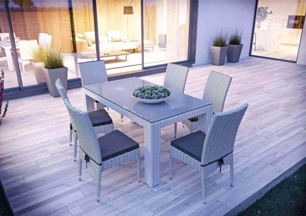 Krzesła z technorattanu – uniwersalne i niezawodne wyposażenie każdego ogrodu