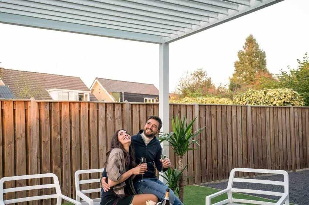 Pergole tarasowe – metalowe i nowoczesne
