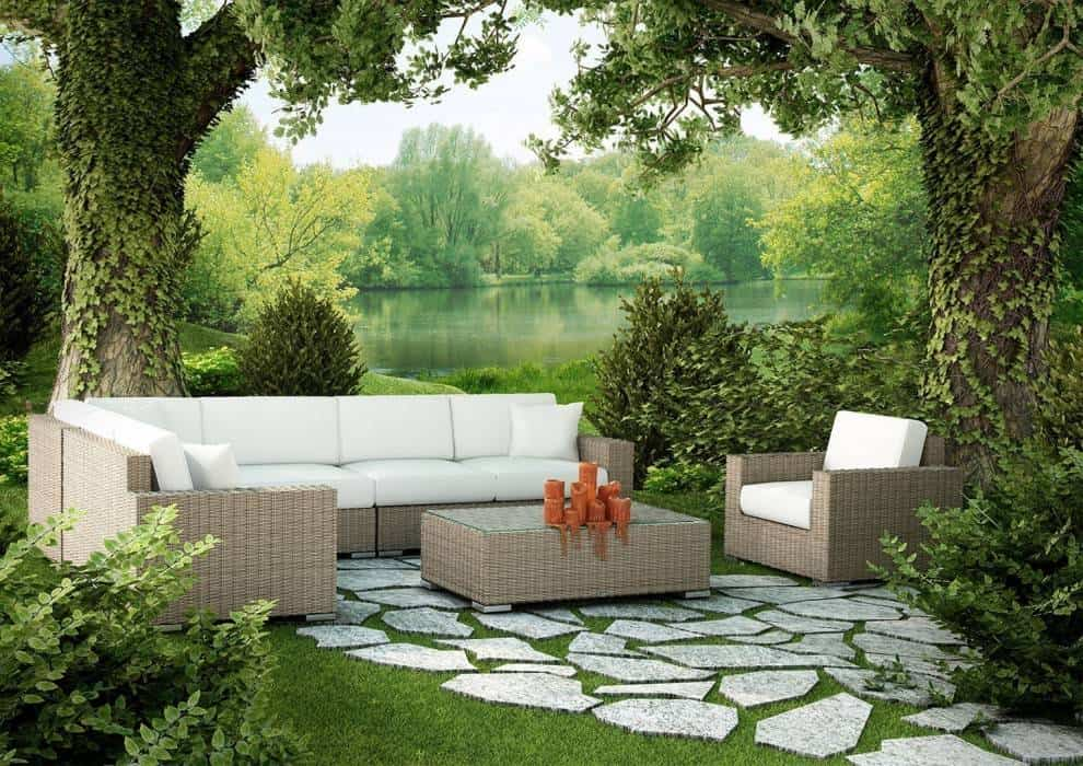 Zestawy wypoczynkowe do ogrodu