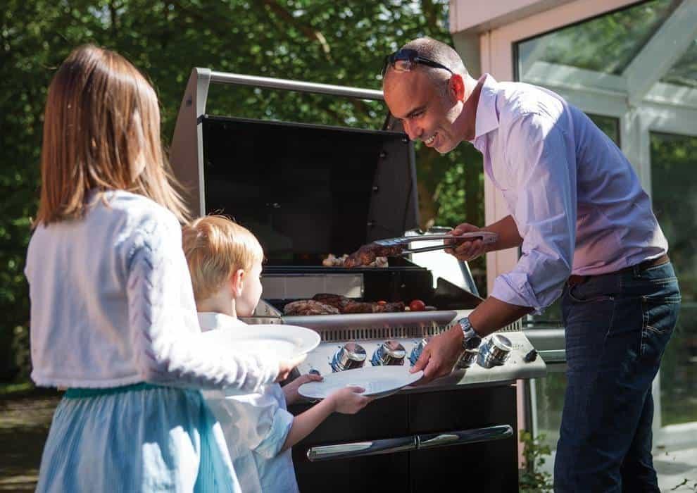 Nowoczesny grill