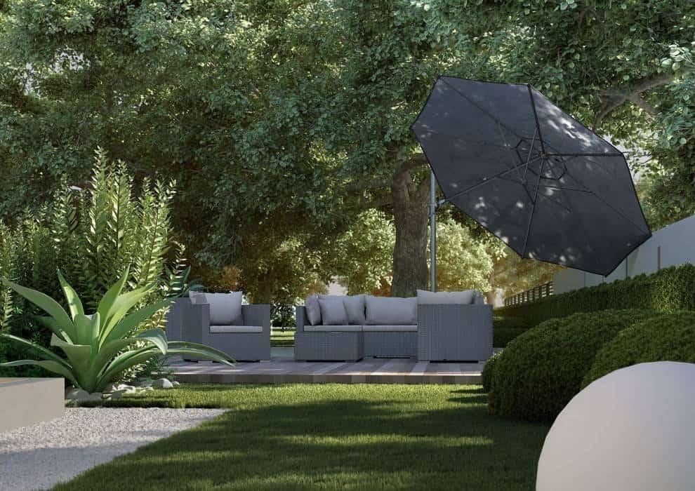 Komplet wypoczynkowy do ogrodu