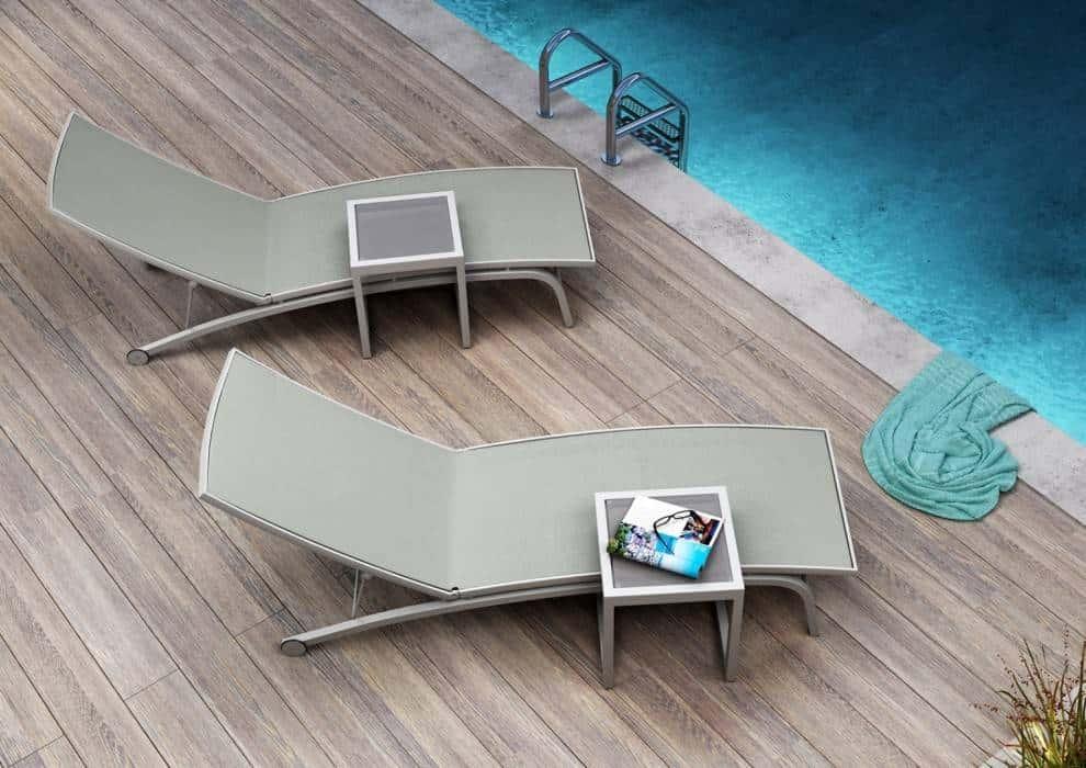 Leżaki do basenu