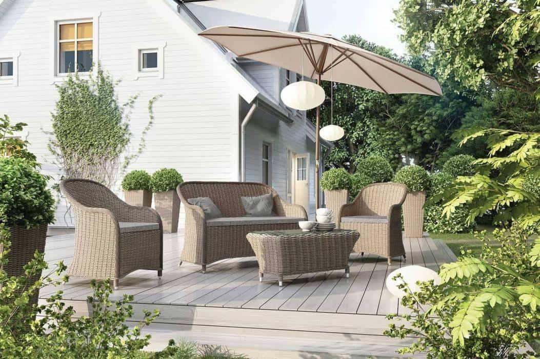 Kanapa ogrodowa – najświeższy trend w Twoim ogrodzie