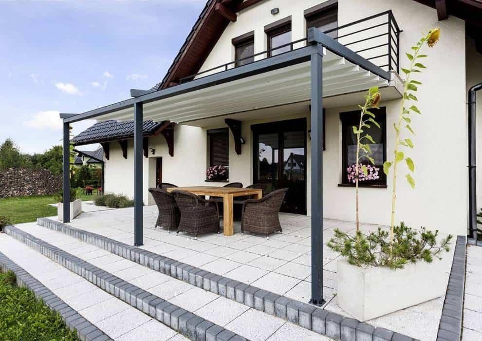 Zadaszenia tarasów – idealne do nowoczesnego ogrodu