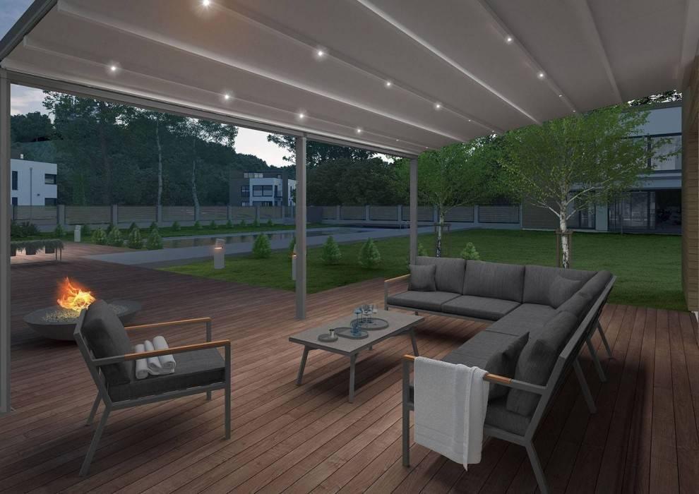 Zadaszony taras – przepis na piękny i funkcjonalny ogród