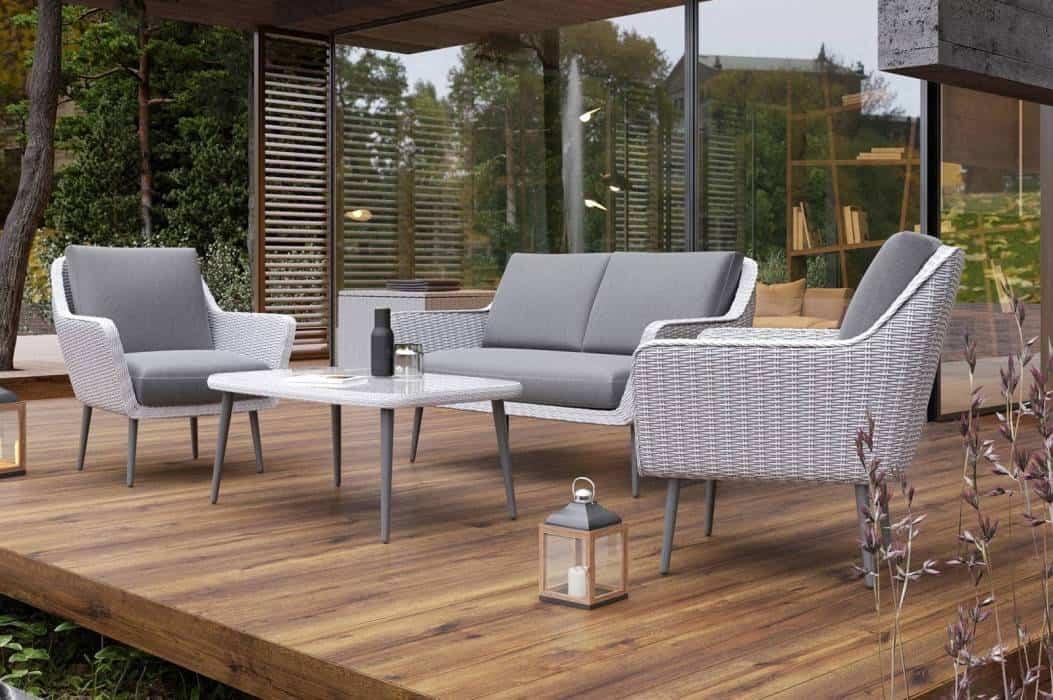 Fotele ogrodowe z technorattanu do nowoczesnego ogrodu