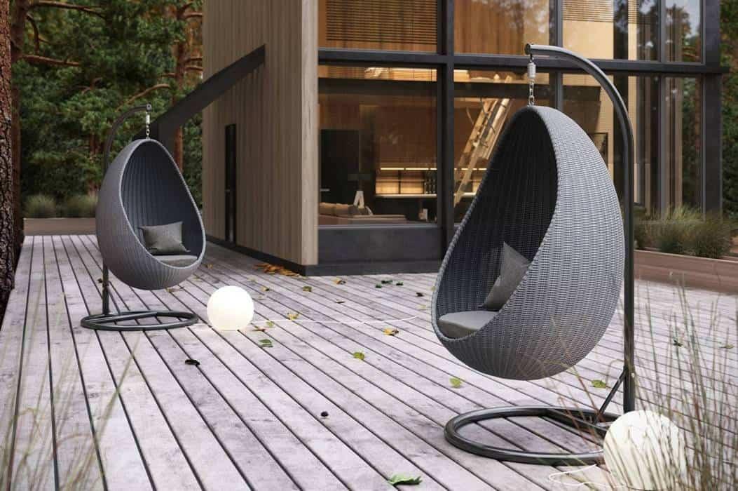 Meble ogrodowe ze sztucznego rattanu – czy warto mieć je w swoim ogrodzie?