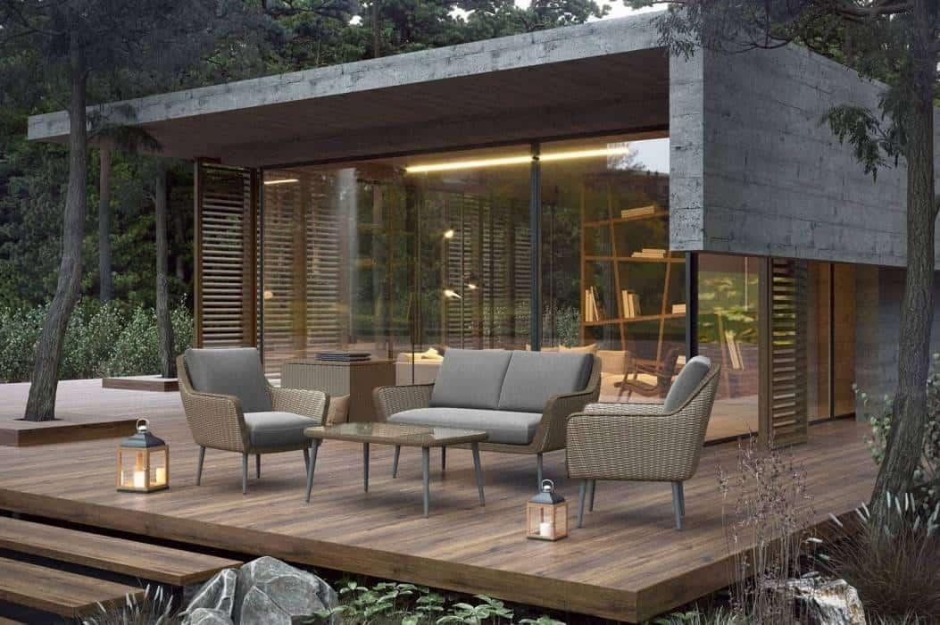 Minimalistyczne meble ogrodowe – poznaj najmodniejsze modele