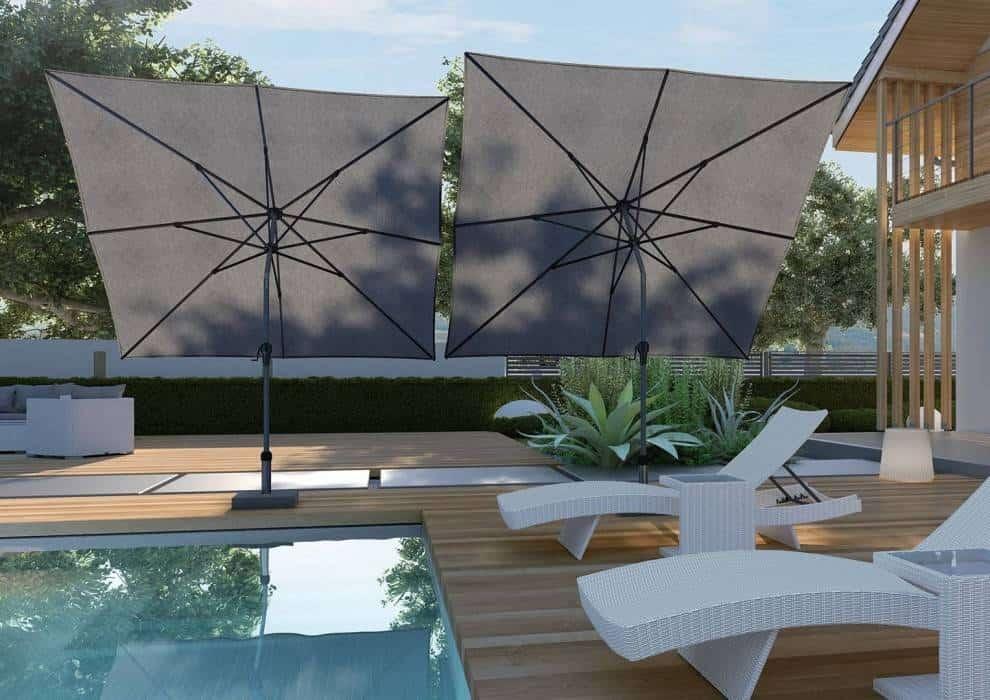 Parasol ogrodowy przeciwdeszczowy – Twój niezawodny kompan podczas odpoczynku