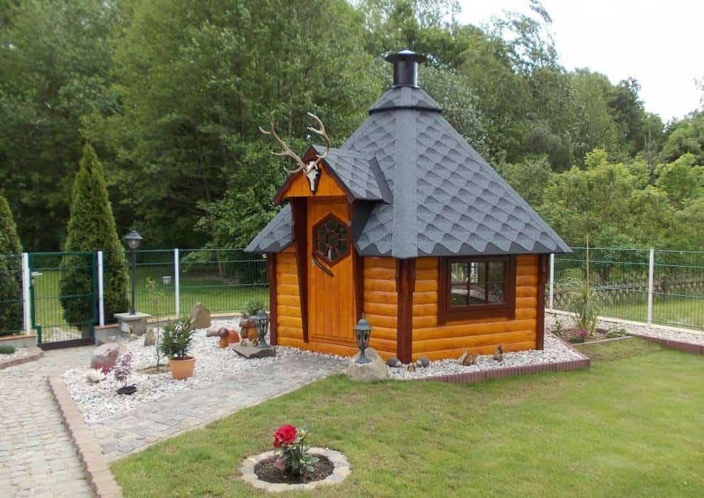 Małe domki ogrodowe