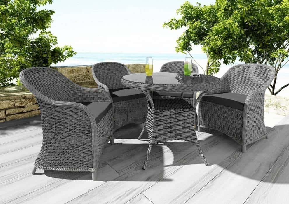 Zestaw kawowy ogrodowy – stwórz elegancki kącik relaksu!