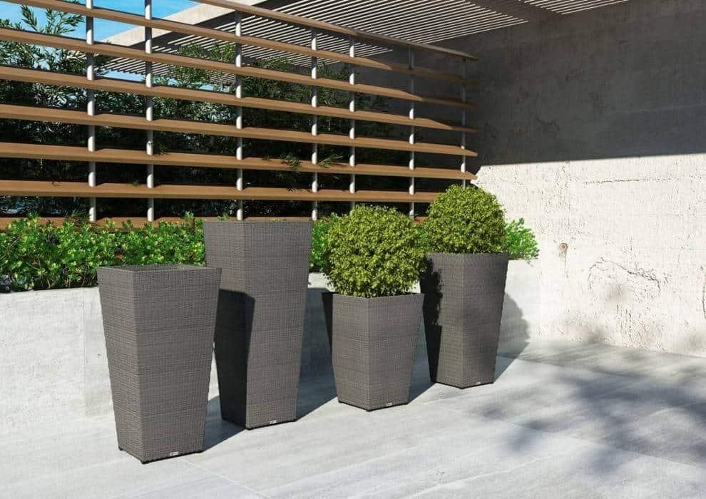 Wysokie doniczki – stylowe dodatki do ogrodu