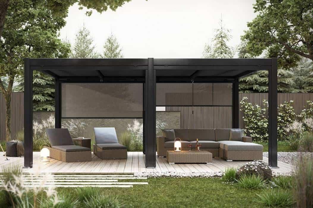 Ogrody przydomowe nowoczesne