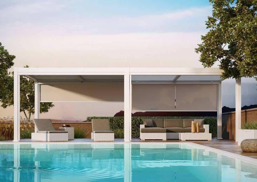 Pergole metalowe – komfortowy wypoczynek w ogrodzie