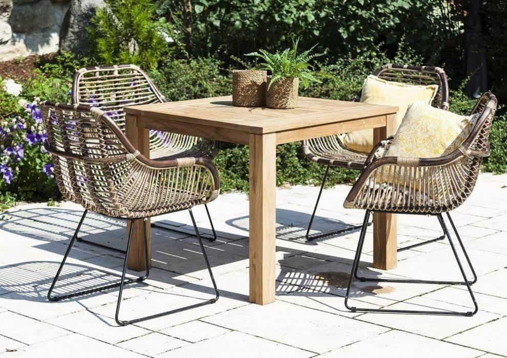 Minimalistyczny ogród – meble, dzięki którym pokochasz swój taras!