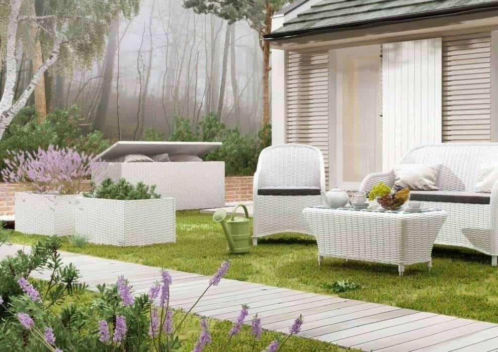 Skrzynia na taras – funkcjonalny dodatek mile widziany w każdym ogrodzie