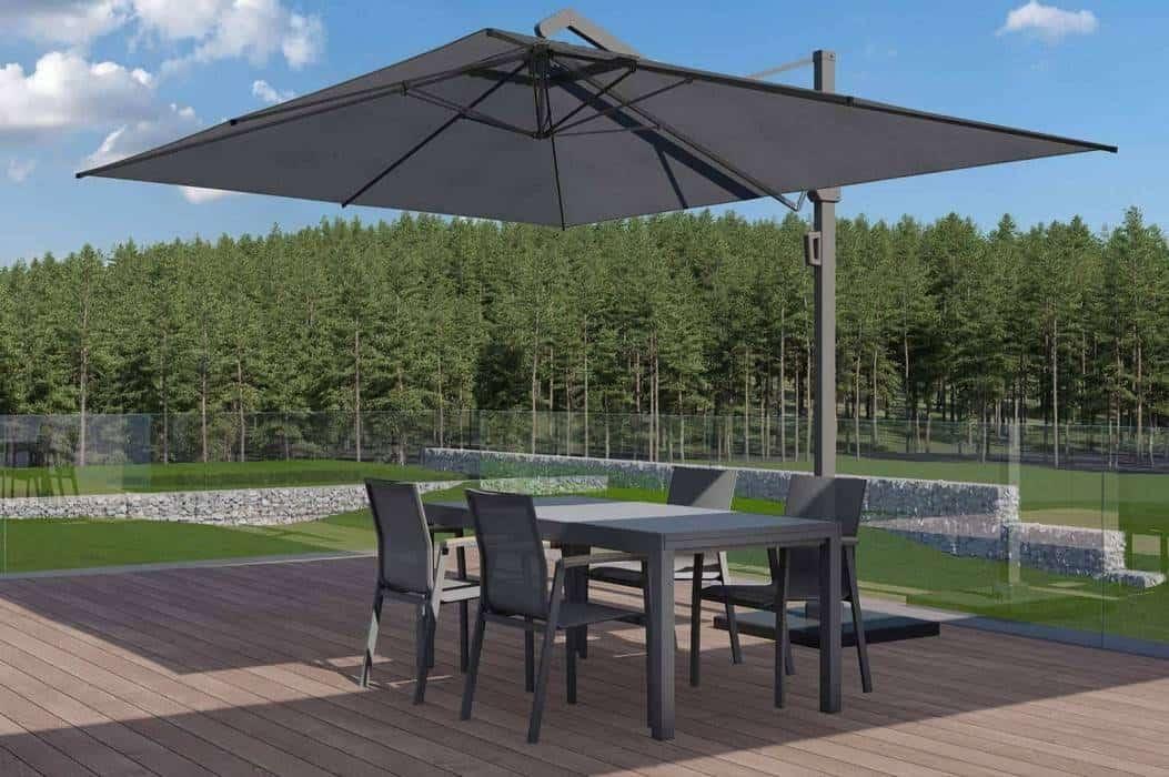 Meble tarasowe z parasolem – odkryj piękniejszą stronę lata!