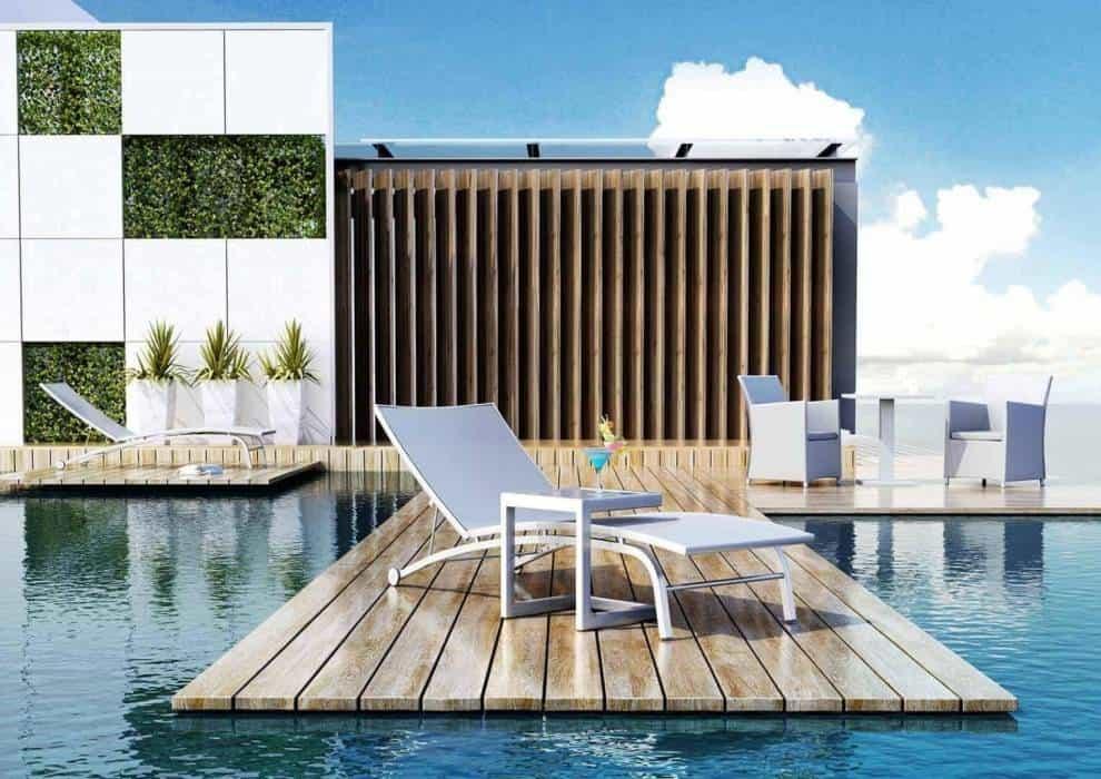 Leżaki na taras – nowy standard w ogrodzie