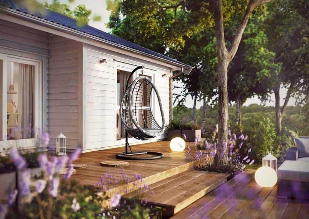 Kokon ogrodowy – piękna dekoracja, praktyczne wyposażenie