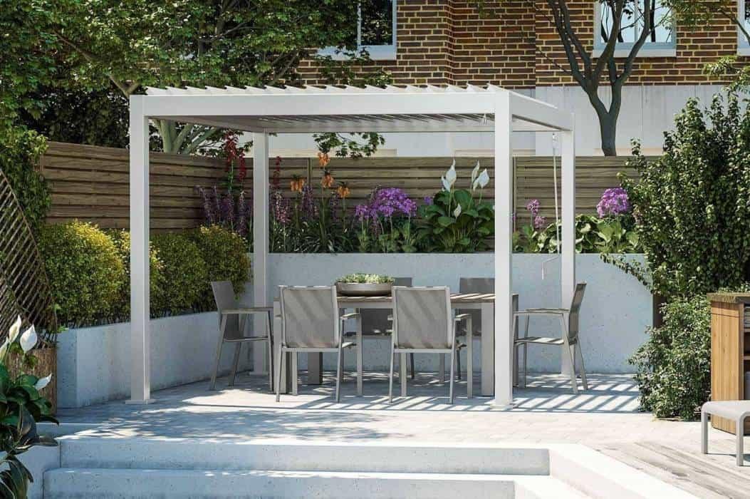 Altana tarasowa – nowoczesny, komfortowy ogród
