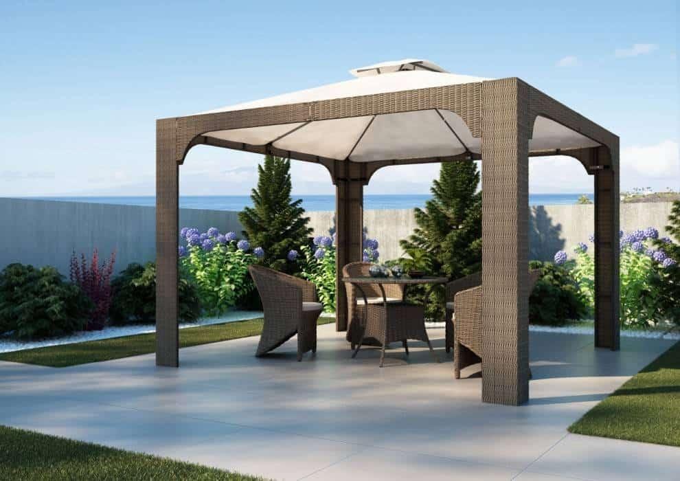 Nowoczesny stół do ogrodu