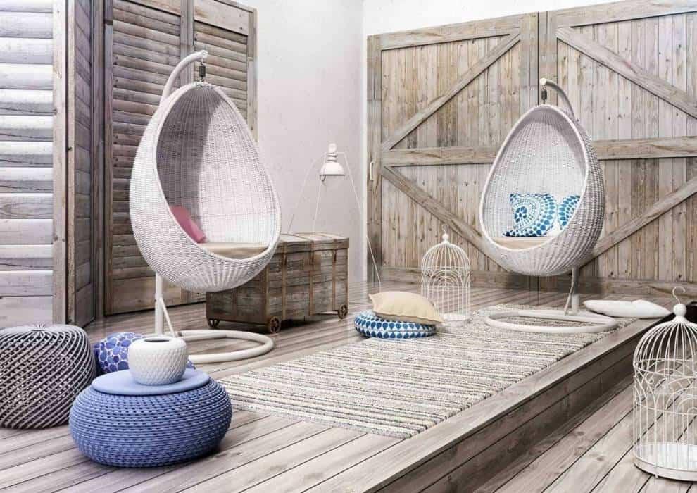 Fotel wiszący biały – modny hit w Twoim ogrodzie
