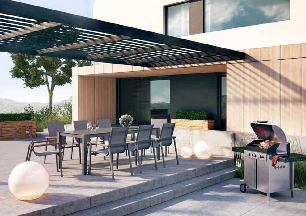 Aluminiowe meble ogrodowe