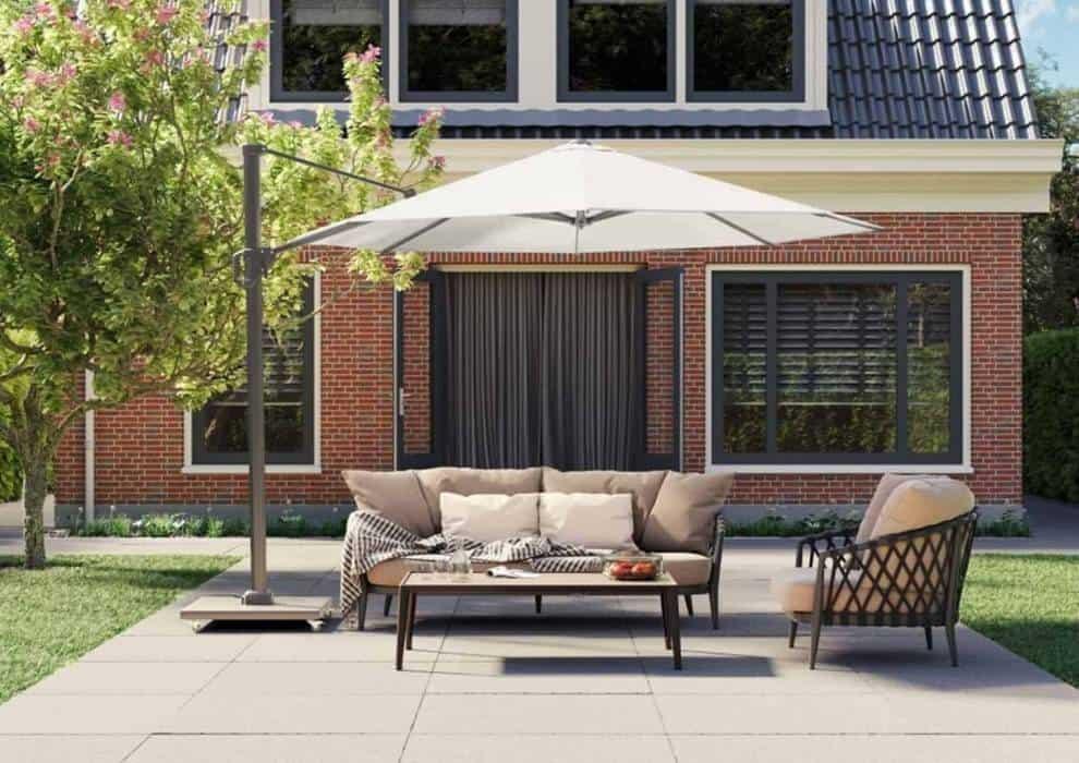 Meble ogrodowe z parasolem – Twój niezbędnik na lato