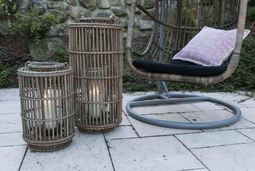 Zestaw ogrodowy – rattan w modnym ogrodzie