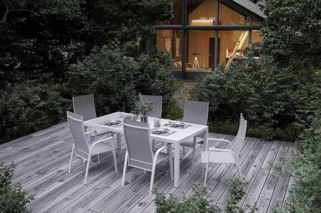 Stół z krzesłami ogrodowy – Twoja rodzinna strefa spotkań
