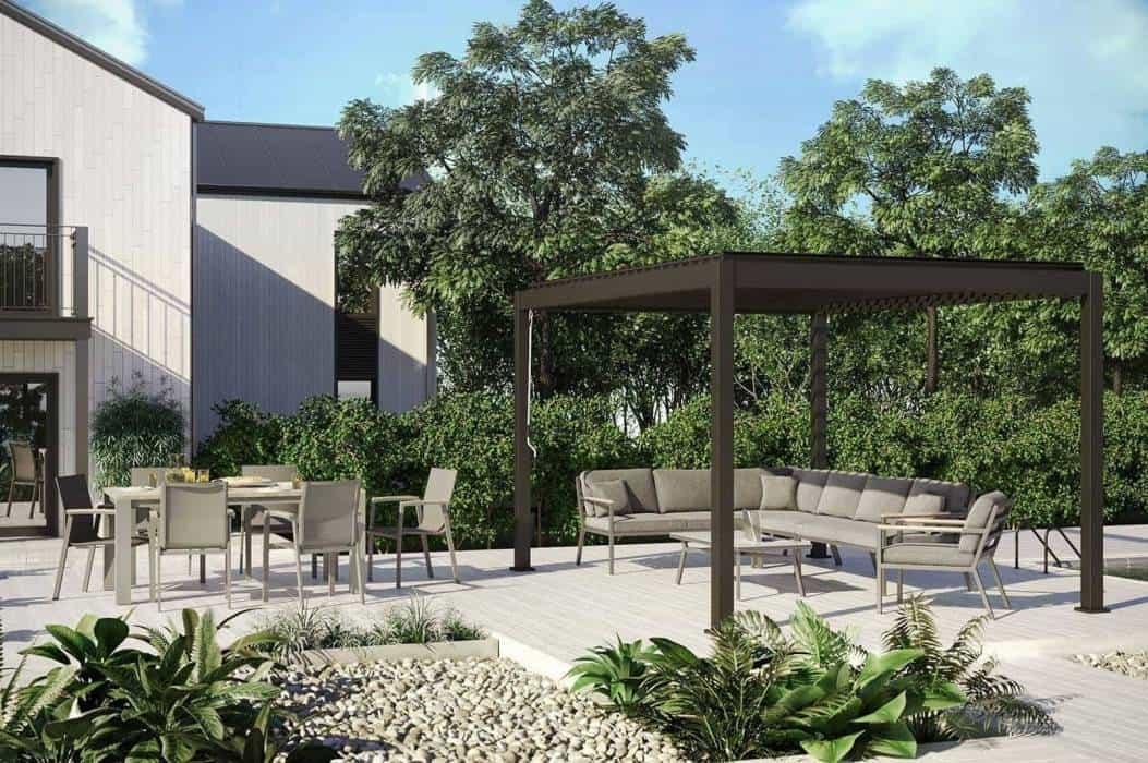 Altana nowoczesna – funkcjonalne rozwiązania do modnego ogrodu