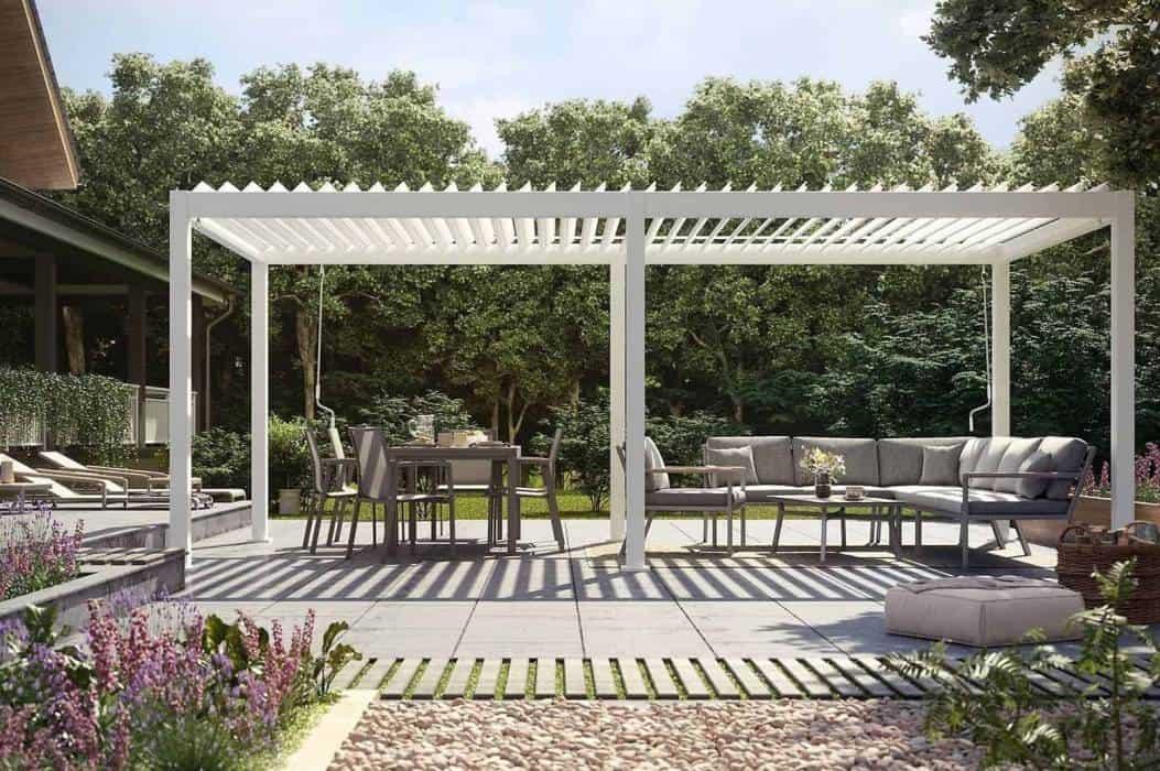 Altana metalowa – rozwiązania do nowoczesnego ogrodu