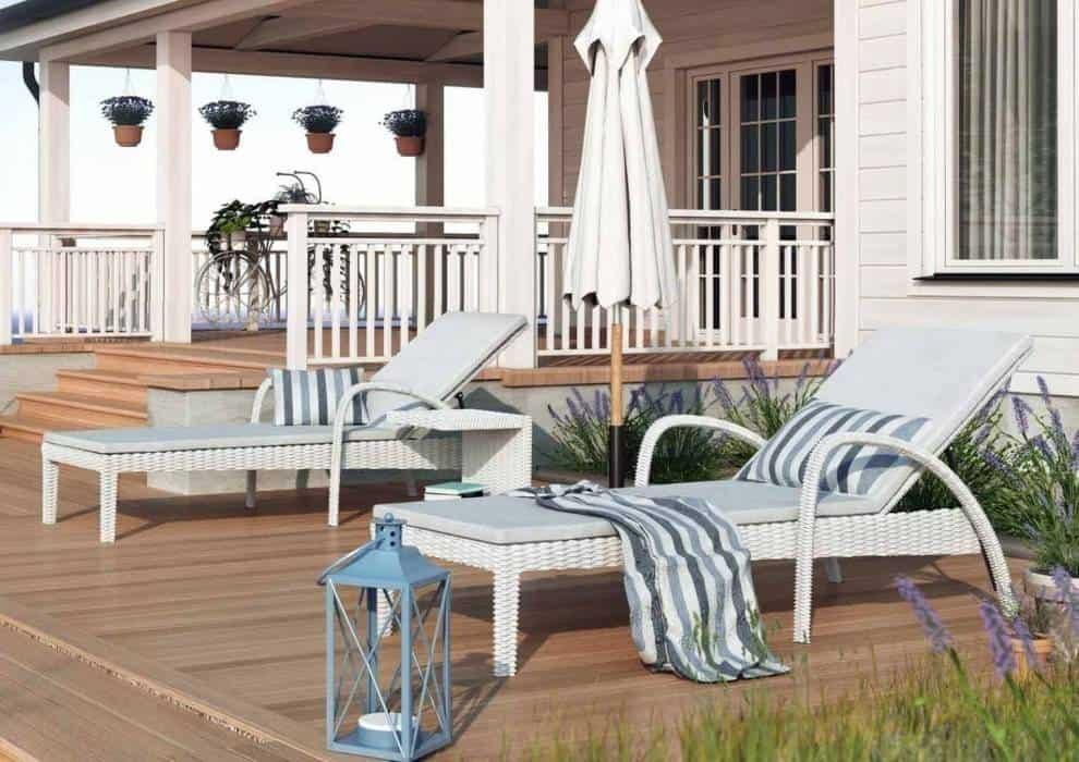 Leżak na balkon – odrobina luksusu na co dzień