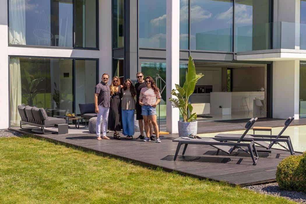 Realizacja Garden Space Beton House w Katowicach