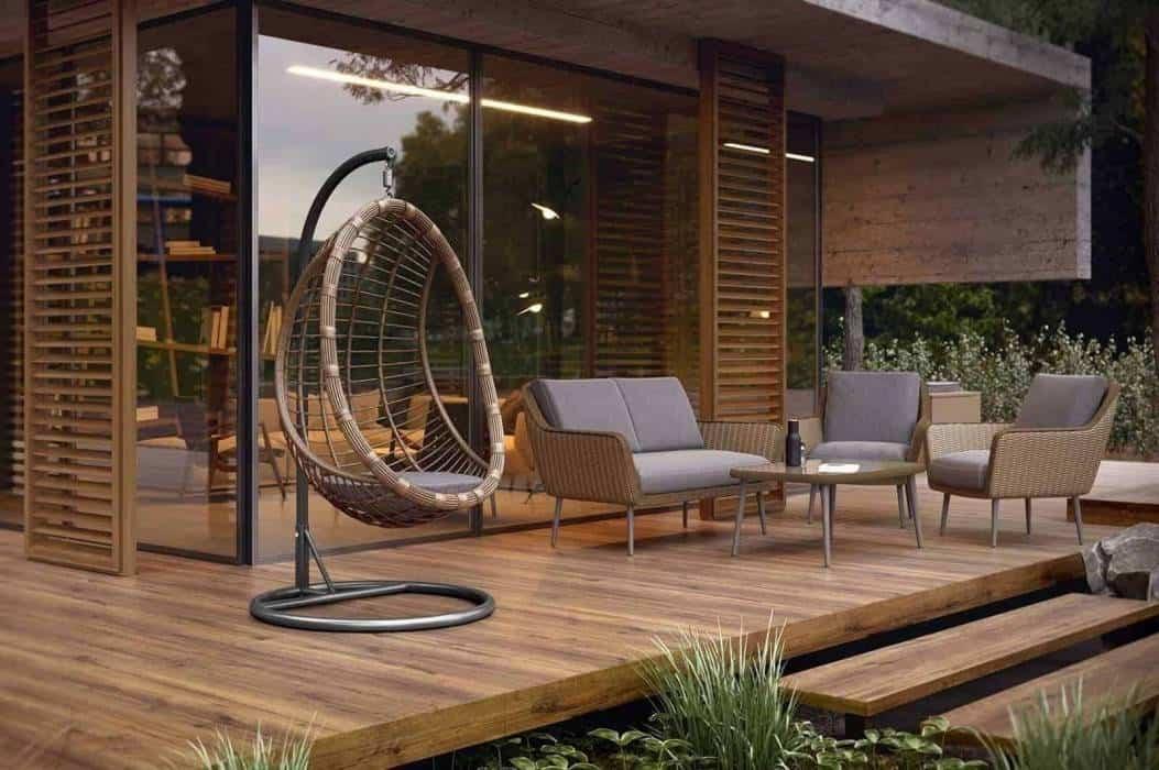 Nowoczesna huśtawka ogrodowa – Twoja prywatna strefa relaksu