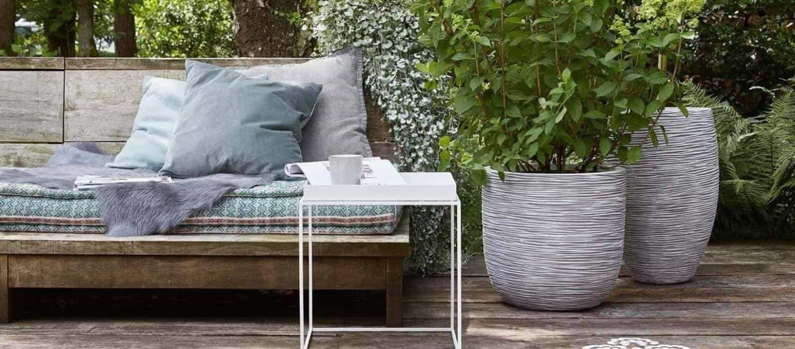 Donice z cementu – stylowy dodatek do nowoczesnego ogrodu
