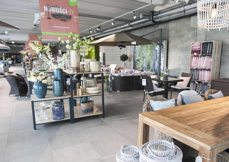 Meble ogrodowe Oświęcim (showroom)
