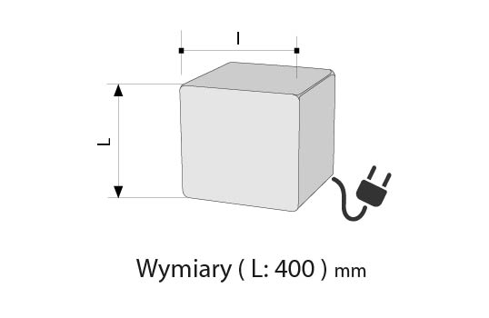 Lampa LIGHT CUBE E27
