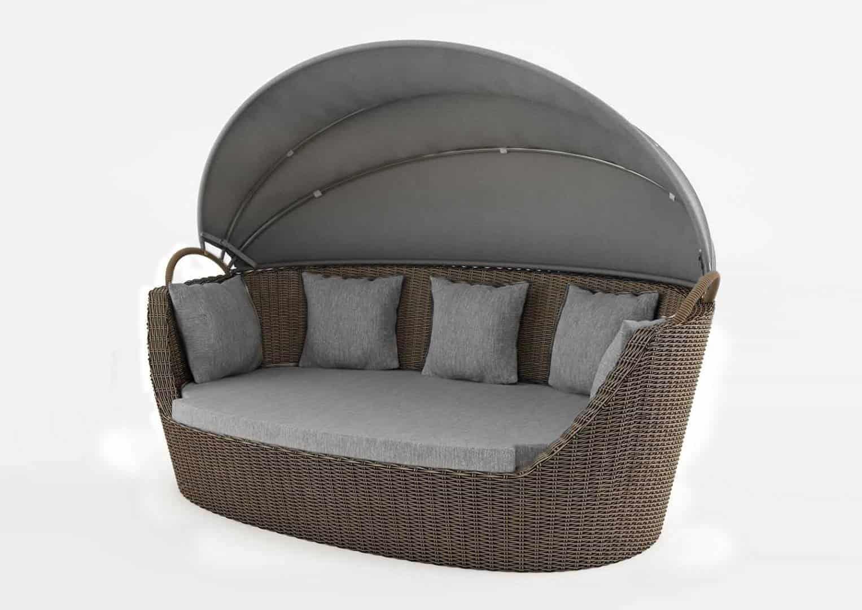 Sofa ogrodowa PORTOFINO royal piaskowa