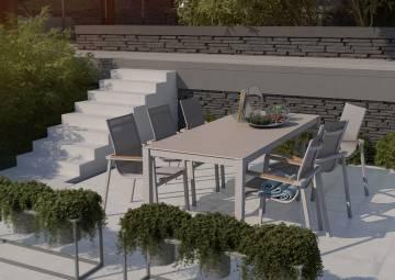 Stół ogrodowy OVIEDO - STONE&WOOD