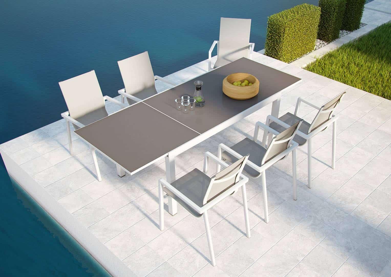 Na zdjęciu stół ogrodowy - Stół ogrodowy TOLEDO