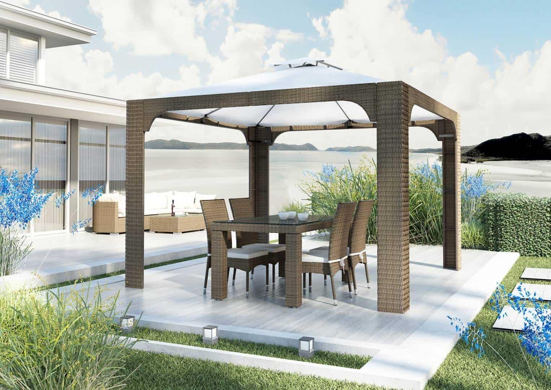 Meble i technorattan - krzesło ogrodowe STRATO