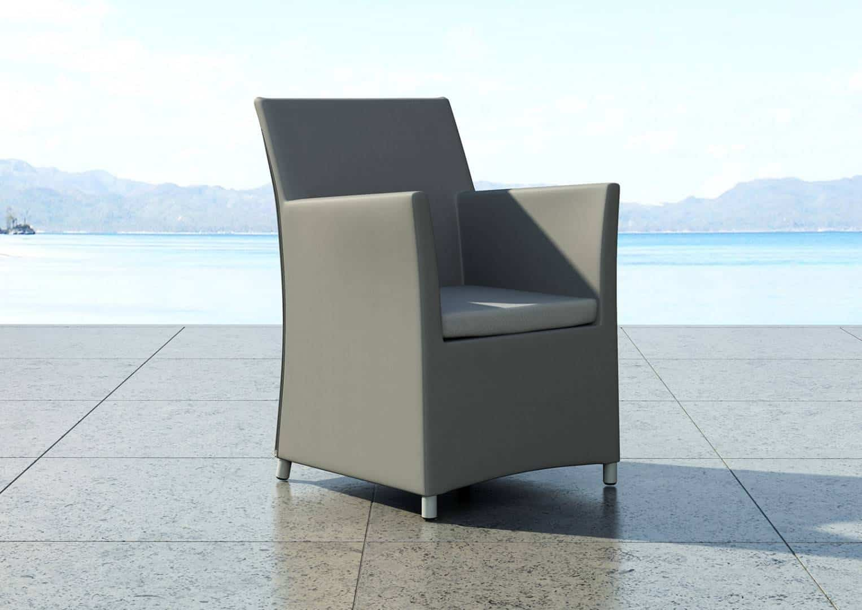 Na zdjęciu fotel ogrodowy – FOTEL MERIDA